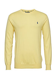 LS SF CN PP-LONG SLEEVE-SWEATER - FALL YELLOW
