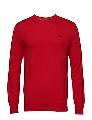 LS SF CN PP-LONG SLEEVE-SWEATER - MARTIN RED