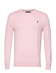 LS SF CN PP-LONG SLEEVE-SWEATER - MIAMI PINK