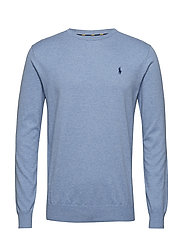 LS SF CN PP-LONG SLEEVE-SWEATER - NEW CAMPUS BLUE H