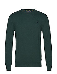 LS SF CN PP-LONG SLEEVE-SWEATER - SCOTCH PINE HEATH