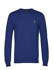 LS SF CN PP-LONG SLEEVE-SWEATER - YACHT BLUE HEATHE