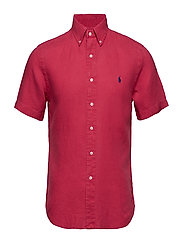 SLBDPPCSSSPT-SHORT SLEEVE-SPORT SHIRT - BERMUDA RED