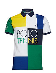 PIMA POLO-SSL-KNT - WHITE MULTI