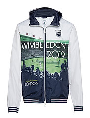 Wimbledon Graphic Windbreaker - WIMBLEDON 2019 PO