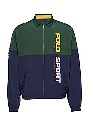 Polo Sport Windbreaker - COLLEGE GREEN/ CR