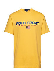 Classic Fit Polo Sport Tee - CHROME YELLOW