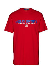 Classic Fit Polo Sport Tee - RL 2000 RED