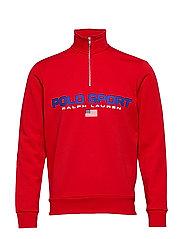 Polo Sport Half-Zip Sweatshirt - RL 2000 RED