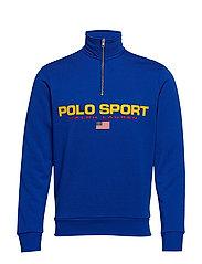 Polo Sport Half-Zip Sweatshirt - SAPPHIRE STAR