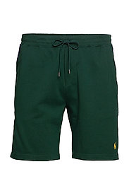 Cotton Interlock Shorts - COLLEGE GREEN