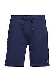 Cotton Interlock Shorts - FRENCH NAVY