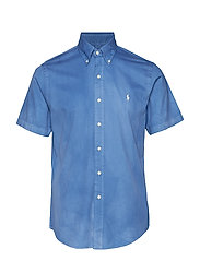 Custom Fit Twill Shirt - EARTH BLUE