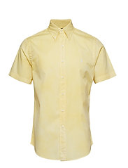 Custom Fit Twill Shirt - EMPIRE YELLOW