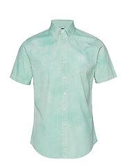 Custom Fit Twill Shirt - FADED MINT