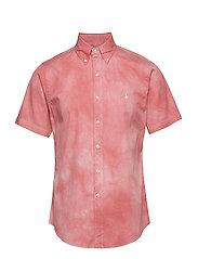 Custom Fit Twill Shirt - RED SKY
