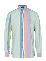 Custom Fit Striped Shirt - 4032 PASTEL MULTI