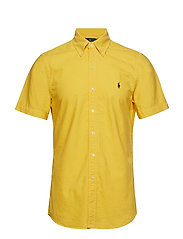 Slim Fit Oxford Shirt - GOLD BUGLE