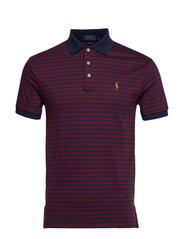 Slim Fit Interlock Polo Shirt - FRENCH NAVY/CLASS