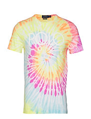 Custom Slim Fit Tie-Dyed Tee - TIE DYE