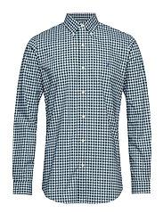Custom Fit Plaid Stretch Shirt - 4035B GREEN MULTI