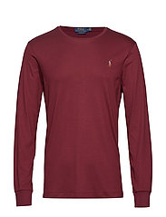 LSCNCMSLM2-LONG SLEEVE-T-SHIRT - CLASSIC WINE