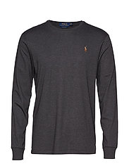 LSCNCMSLM2-LONG SLEEVE-T-SHIRT - DARK GREY HEATHER