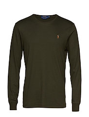 LSCNCMSLM2-LONG SLEEVE-T-SHIRT - ESTATE OLIVE