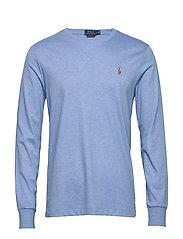 Custom Slim Interlock T-Shirt - SOFT ROYAL HEATHE