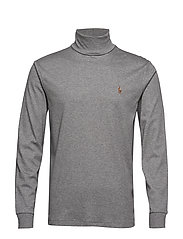 LSTURTLEM1-LONG SLEEVE-KNIT - BOULDER GREY HEAT