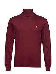 LSTURTLEM1-LONG SLEEVE-KNIT - CLASSIC WINE