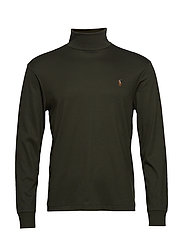 LSTURTLEM1-LONG SLEEVE-KNIT - ESTATE OLIVE
