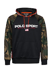 Polo Sport Camo Hoodie - BRITISH ELMWOOD C