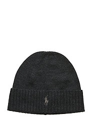 Wool Signature Pony Hat - DARK GRANITE HEAT