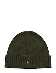 Wool Signature Pony Hat - OIL CLOTH GREEN