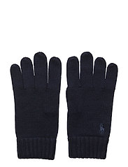 Signature Pony Wool Gloves - PIPER NAVY