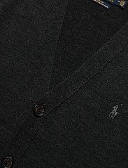 Polo Ralph Lauren - LS SF VN CRD-LONG SLEEVE-SWEATER - stickade basplagg - dark granite heat - 3