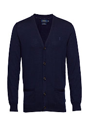 LS SF VN CRD-LONG SLEEVE-SWEATER - HUNTER NAVY