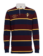 LSRUGBYM3-LONG SLEEVE-KNIT - CLASSIC WINE MULT
