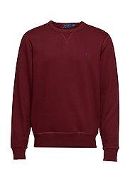 Fleece Crewneck Sweatshirt - CLASSIC WINE