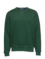 Fleece Crewneck Sweatshirt - COLLEGE GREEN