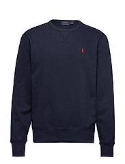 Fleece Crewneck Sweatshirt - CRUISE NAVY