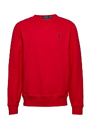 Fleece Crewneck Sweatshirt - RL2000RED/C7996