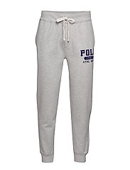 Fleece Graphic Jogger - ANDOVER HEATHER