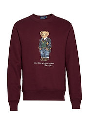 LSCNM4-LONG SLEEVE-KNIT - CLASSIC WINE