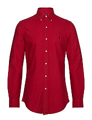 SL BD PPC SP-LONG SLEEVE-SPORT SHIRT - PIONEER RED