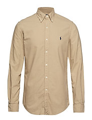SL BD PPC SP-LONG SLEEVE-SPORT SHIRT - SURREY TAN