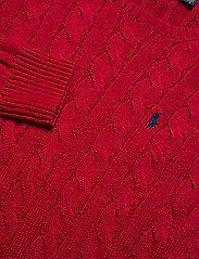 Polo Ralph Lauren - Cable-Knit Cotton Sweater - podstawowa odzież z dzianiny - park avenue red - 2
