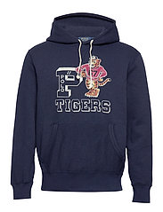 Polo Tigers Fleece Hoodie - CRUISE NAVY