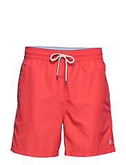 5½-Inch Traveler Swim Trunk - RACING RED